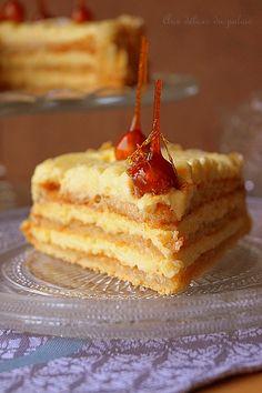 Succès amande-noisette à la crème mousseline. #entremets #noisette #patisseriefrancaise #buche #dacquoise #succés #amande #noel #reveillon #cream #mousse