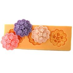 3 Small flower mold – Resin Obsession
