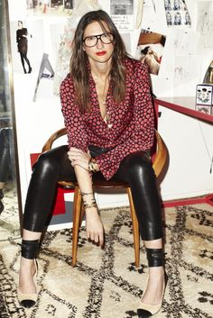 Style Mavens: Jenna Lyons' Beautiful Mess - The Home of Modern Glamour - Sukio