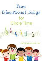 Free circle time songs and rhymes for all holidays and season