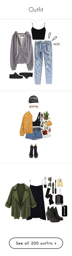 """Outfit"" by laannu ❤ liked on Polyvore featuring OneTeaspoon, Vans, Topshop, Old Navy, Marc by Marc Jacobs, Bobbi Brown Cosmetics, NYX, Kjaer Weis, Casetify and Threshold"