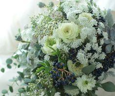 ある日、 : 一会 ウエディングの花