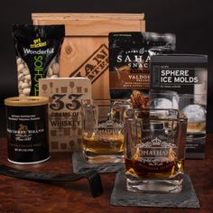 Personalized Whiskey Man Crate | Vessels for Gentlemen of Refined Tastes