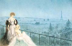 Louis Icart (1880-1950) Art Deco Artist ~ Blog of an Art Admirer