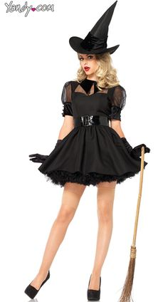 Results 241 - 300 of Find sexy Halloween costumes for women, men, and plus-size right here! Shop our selection for the best sexy Halloween costume ideas around! A revealing, sexy costume is sure to make your Halloween or cosplay event a memorable one. Witch Fancy Dress, Witch Dress, Witch Outfit, Halloween Fancy Dress, Vintage Halloween, Witch Costume Adult, Adult Costumes, Halloween Costumes, Witch Costumes