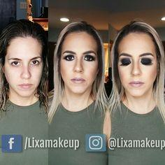 Smokey Eyes  #smokey #makeup #beforeandafter