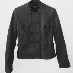Jacket This jacket is a wool like material and an inner satin lining H&M Jackets & Coats