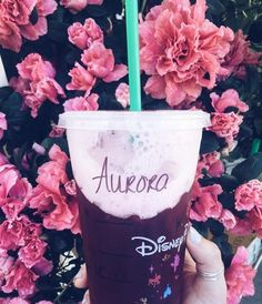 When Starbucks barista at Disneyland asks you your name, say a Disney princess' name. Disneyland Paris, Disneyland Photos, Disneyland Food, Disney World Trip, Disney Vacations, Disney Trips, Disney Food, Disney Pixar, Disney Snacks