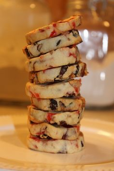 fruitcake cookies - Just made these. If I make them again, instead of putting 3/4 cup each of candied cherries, pineapple & raisins, I'd use 2 1/4 cup of the chopped up candied fruit. Chopping candied fruit is a sticky job. Can't rate until I bake & eat.  jg