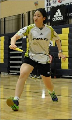 Centennial College's Yan Zhou has claimed the bronze medal at the Canadian College Athletics Association's Nationals for Women's Singles Badminton. Centennial College, Badminton, Athletics, Basketball Court, Bronze, Sports, Hs Sports, Sport