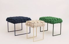 Brazilian Furniture Designer Humberto da Mata Mixes Colors and Textures to Create Tactile Pieces – NONAGON.style