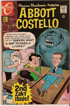 Abbott and Costello comic book