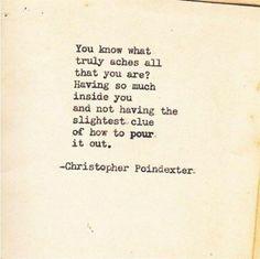I love Christopher Poindexter! Bingo!!