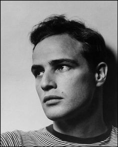 39 years ago today Marlon Brando declines his Best Actor Oscar for The Godfather to draw attention to the plight of Native Americans ©Philippe Halsman/Magnum Photos
