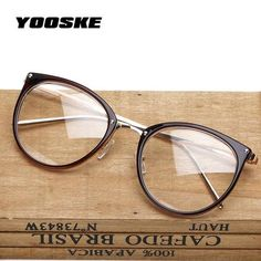 3180f6b3748c Round Vintage Eyeglasses Spectacle Frame Women Computer Optical Glasses For  Women s Transparent Female Armacao Oculos de