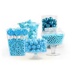 Light Blue Candy Buffet