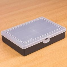 Storage Box 7 Compartment - 7 compartments to hold all of your essential Maker goods - Black