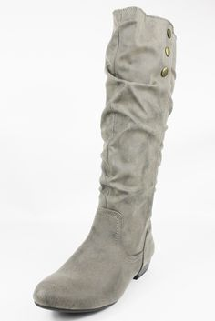 Cliffs by White Mountain Stone Funhouse Knee High Boots