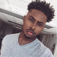 11 Awesome Man Bun Hairstyles With a Fade for 2019 - Style My Hairs Natural Hair Men, Curly Hair Men, Curly Hair Styles, Natural Hair Styles, Black Men Haircuts, Black Men Hairstyles, Mens Braids Hairstyles, Hairstyles Haircuts, African Hairstyles