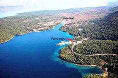 Stari Grad, ferry port for all car ferries from Split