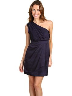 I'm running out of dresses to wear for people's weddings. This would be cute.