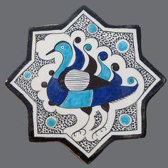 . Turkish Tiles, Turkish Art, Urban Sketching, Tile Art, Baby Knitting Patterns, Wordpress Theme, Zentangle, Cool Style, Mosaic