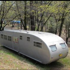 "1951 Royal Spartanette.... It's the ""LONG LONG TRAILER"" lol"
