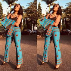 Prepare to Drool Over These Ankara Styles - Wedding Digest Naija African Print Pants, African Print Dresses, African Print Fashion, African Dress, Africa Fashion, African Prints, African Attire, African Wear, African Women