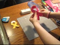 Relay For Life craft using all cancer colors...???