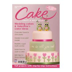 CAKE CRAFT MAGAZINE  Welcome to Cake Craft & Decoration, the world's leading monthly magazine for all those interested in cake decoration and sugarcraft. Every issue carries 8 to 12 complete projects for you to make. Projects include wedding cakes, novelty cakes, cupcakes, floral decorations and anniversary cakes. Each one has clear instructions and step-by-step colour photographs, plus tips, techniques and full details of the equipment and ingredients you need.