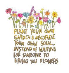 Juste mais je suis mauvais jardinier!