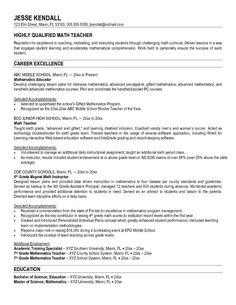math teacher resume sample httpjobresumesamplecom677math - Optimal Resume Le Cordon Bleu