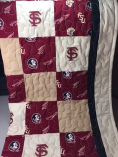 Check out this item in my Etsy shop https://www.etsy.com/listing/499348956/florida-state-seminoles-crib-quilt