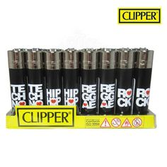 Boite de 48 briquets Clipper Music