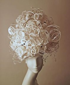 curled paper sculptures - Google Search