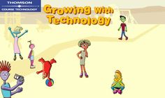 Growing With Technology - Love this site!  I always use it with my kindergarten students to teach the parts of a computer, but there are tech activities for every grade!