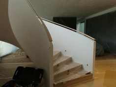 Fotó itt: Hajlított korlátok - Google Fotók Curved Wood, Stairs, Google, Home Decor, Stairway, Decoration Home, Room Decor, Staircases, Home Interior Design