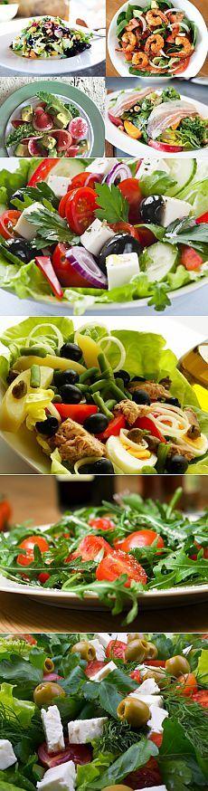 """70 receitas para saladas - Portal """"Home"""""""