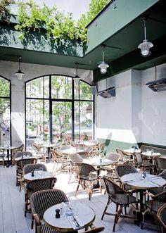 Paris - Brasserie Barbès - inside view - also has a roof top terrace - 2 Boulevard Barbès - Photo: Julie Ansieu