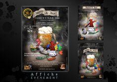 Affiche pour l'évènement Bière et jeux