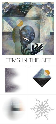 """""""we are the universe"""" by jazzy ❤ liked on Polyvore featuring art"""