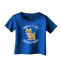 TooLoud Rescue A Puppy Infant T-Shirt Dark