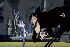 Bugs meets Count Bloodcount