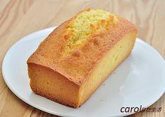 Carol 自在生活 : 基本磅蛋糕(重奶油蛋糕)。pound cake - 實作影片