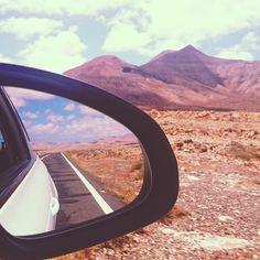 #canaryislands por @somosturisteo Canario, Car Mirror, Amazing, Instagram Posts, Canary Islands, Places