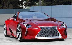 2012 Lexus LF-LC Hybrid Sport Coupe Concept