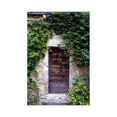 rustic door photo France art print wooden door by GCFPhotography