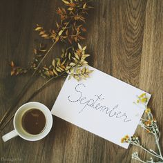 Welcome september and hi Autumn! ♥   #september #autumn #coffee #coffeeproject #floragorbe