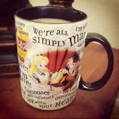 Disney coffee cup