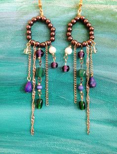 A personal favorite from my Etsy shop https://www.etsy.com/listing/235860497/mixed-beads-earrings-dangle-earrings